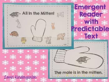 The Mitten {Literacy Mini Unit}