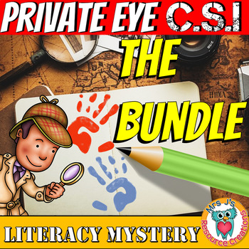 Literacy Mystery Growing Bundle - Private Eye CSI Series