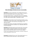 Literacy Night Reading Strategies for Families (with Spanish translation)