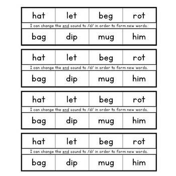 Literacy Notebooks: Phonological Awareness