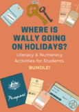 Literacy & Numeracy Problem Solving BUNDLE: Where is Wally