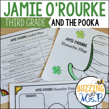 Jamie O'Rourke and the Pooka Literacy Pack Book Unit