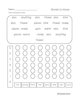 Literacy Packet
