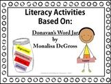 Literacy Packet - Based on Donavan's Word Jar |Distance Learning