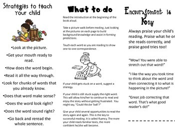 Literacy Pamphlet for Parents
