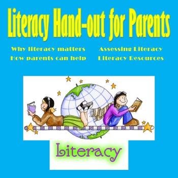 Literacy Handout