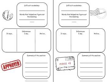 Literacy Passport - Inference, Summary, and Context Clues