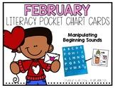 Literacy Pocket Chart: Manipulating Beginning Sounds