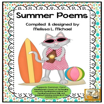 Literacy Posters * Summer Poetry Collection for Early Read