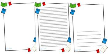 Literacy Printable Writing Paper