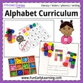 Complete Letters & Phonics Literacy Curriculum with Guided Lessons