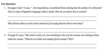 Historical Fiction Book Study: Sylvia & Aki, Summative Writing, 5th, 6th, & 7th
