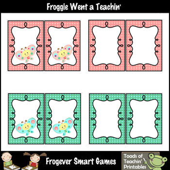 Literacy Resource -- Butterfly Kisses Word Wall Headers (small)
