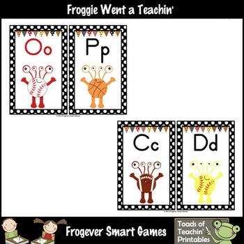 Literacy Resource--Mighty Monsters Word Wall Headers