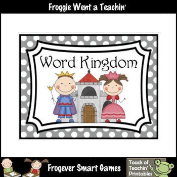 Literacy Resource -- Word Kingdom Word Wall Headers (small & large)