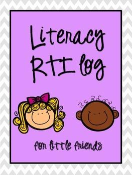 Literacy Response to Intervention (RTI) log
