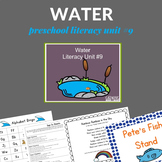 Literacy Rich Water Lesson Plans for Preschoolers (Unit)