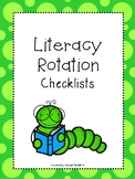 Literacy Rotation Checklists - L3 Style