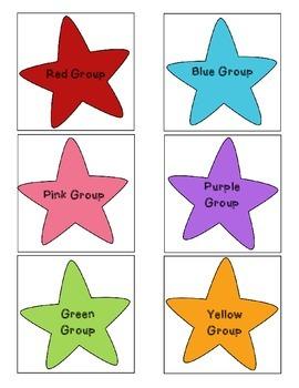 Literacy Rotations Chart