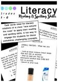 Literacy Round Robin