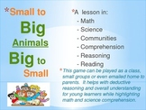Literacy and Science Elementary Activity