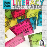 Literacy Sensory Bin Task Cards for Any Book
