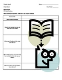Literacy Skill: Sequential Instructions Graphic Organizer
