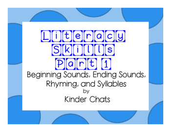 Literacy Skills Games Part 1 for Small Group Work/Guided reading/Partner games