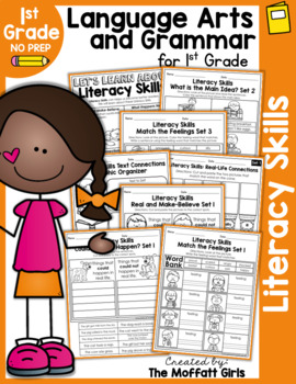 Literacy Skills NO PREP Packet