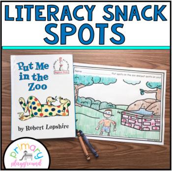 Literacy Snack Idea Spots