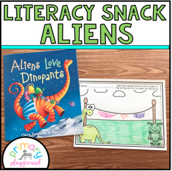 Literacy Snack Idea Aliens