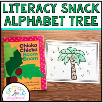 Literacy Snack Idea Alphabet Tree