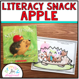 Literacy Snack Idea Apple