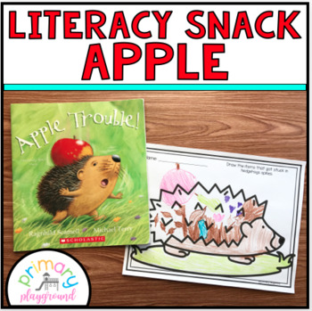 Literacy Snack Idea Apple