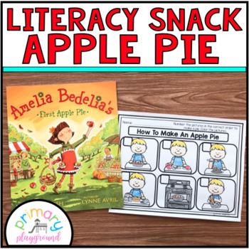 Literacy Snack Idea Apple Pie