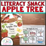Literacy Snack Idea Apple Tree
