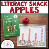 Literacy Snack Idea Apples