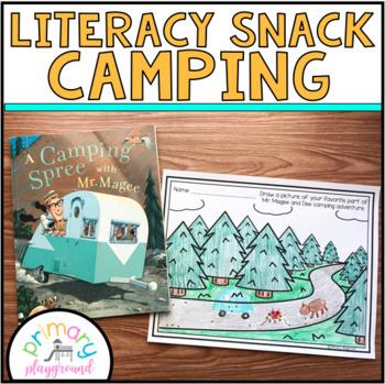Literacy Snack Idea Camping