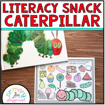 Literacy Snack Idea Caterpillar