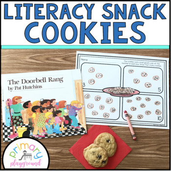 Literacy Snack Idea Cookies
