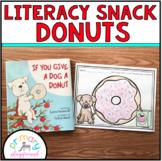 Literacy Snack Idea Donuts
