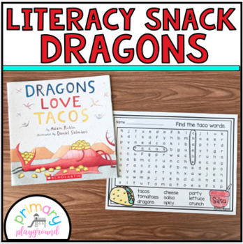 Literacy Snack Idea Dragons