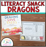 Literacy Snack Idea Dragons