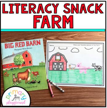 Literacy Snack Idea Farm