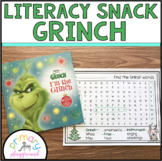Literacy Snack Idea Grinch