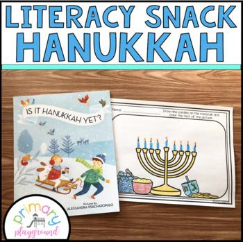 Literacy Snack Idea Hanukkah