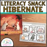 Literacy Snack Idea Hibernate