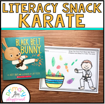 Literacy Snack Idea Karate