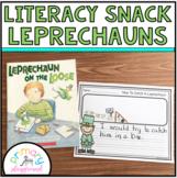 Literacy Snack Idea Leprechaun