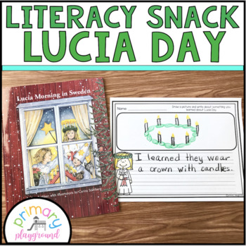 Literacy Snack Idea Lucia Day